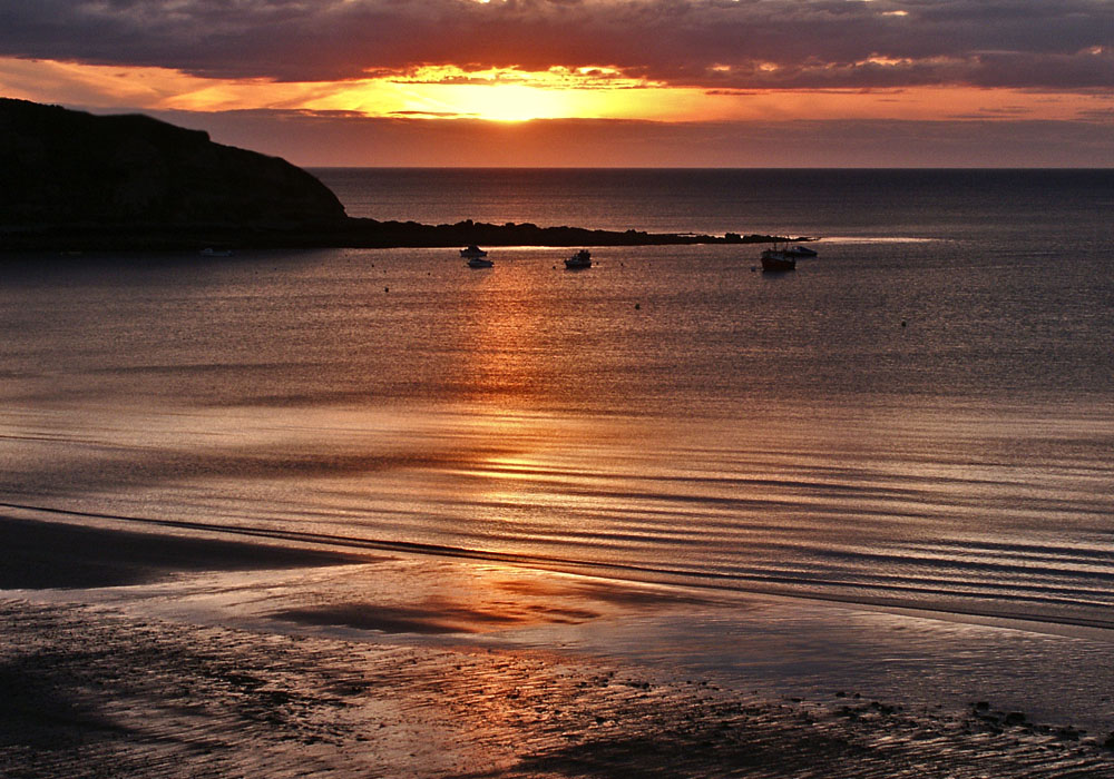 photoblog image Just a Welsh Sunset