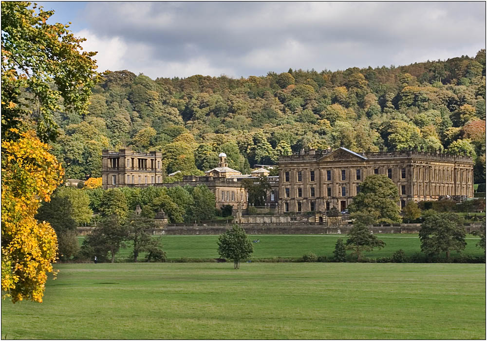 photoblog image Chatsworth in the Peak