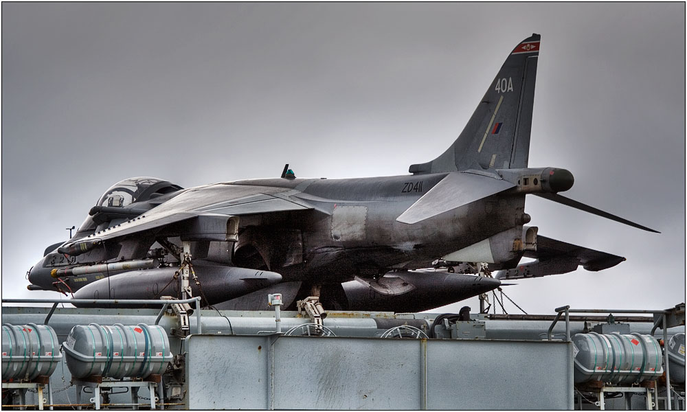photoblog image BAE Harrier GR7A