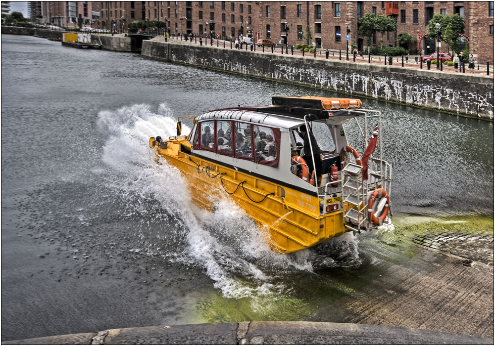 photoblog image Like a DUKW to Water