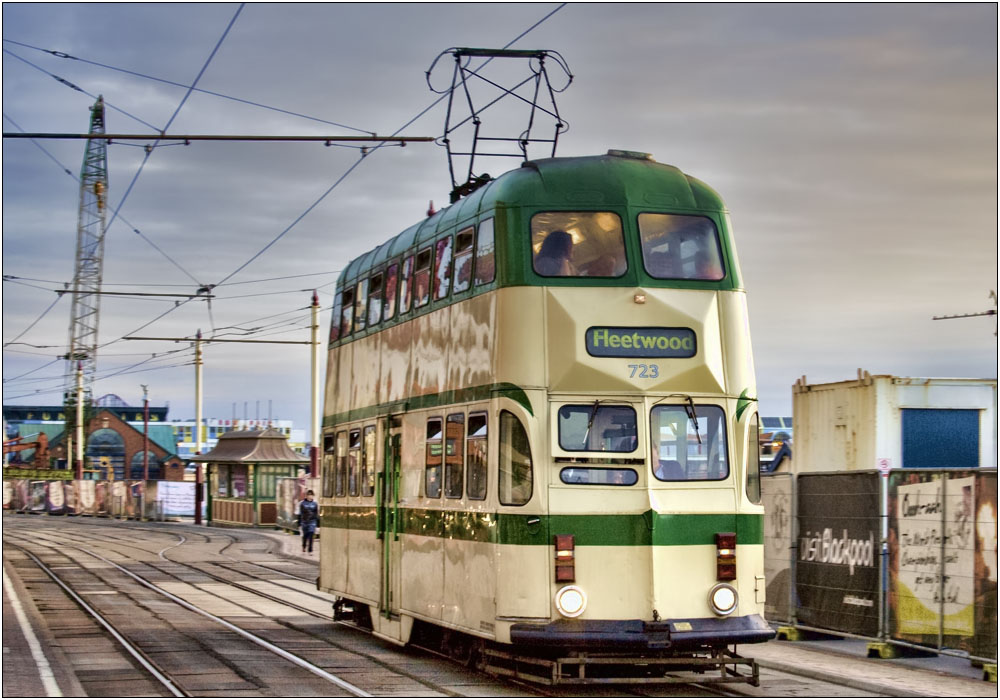 photoblog image The Disappearing Blackpool Tram
