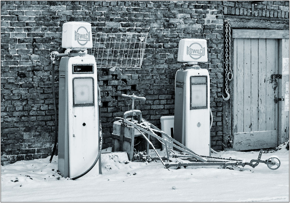 photoblog image Once were Petrol Pumps...