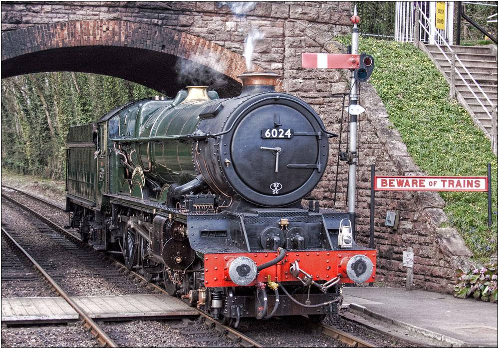 photoblog image Beware of Trains