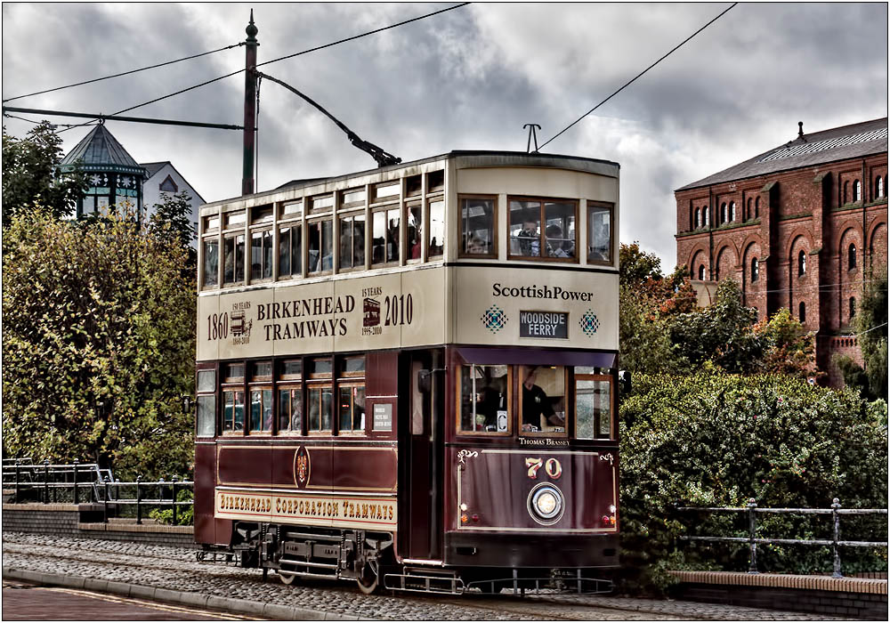 photoblog image 150 Years of Trams on the Wirral