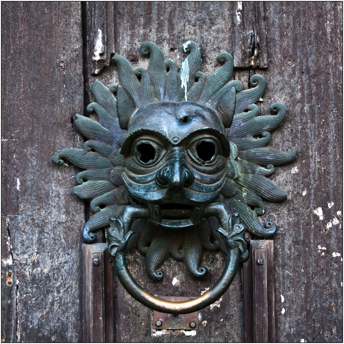 photoblog image The Sanctuary Knocker