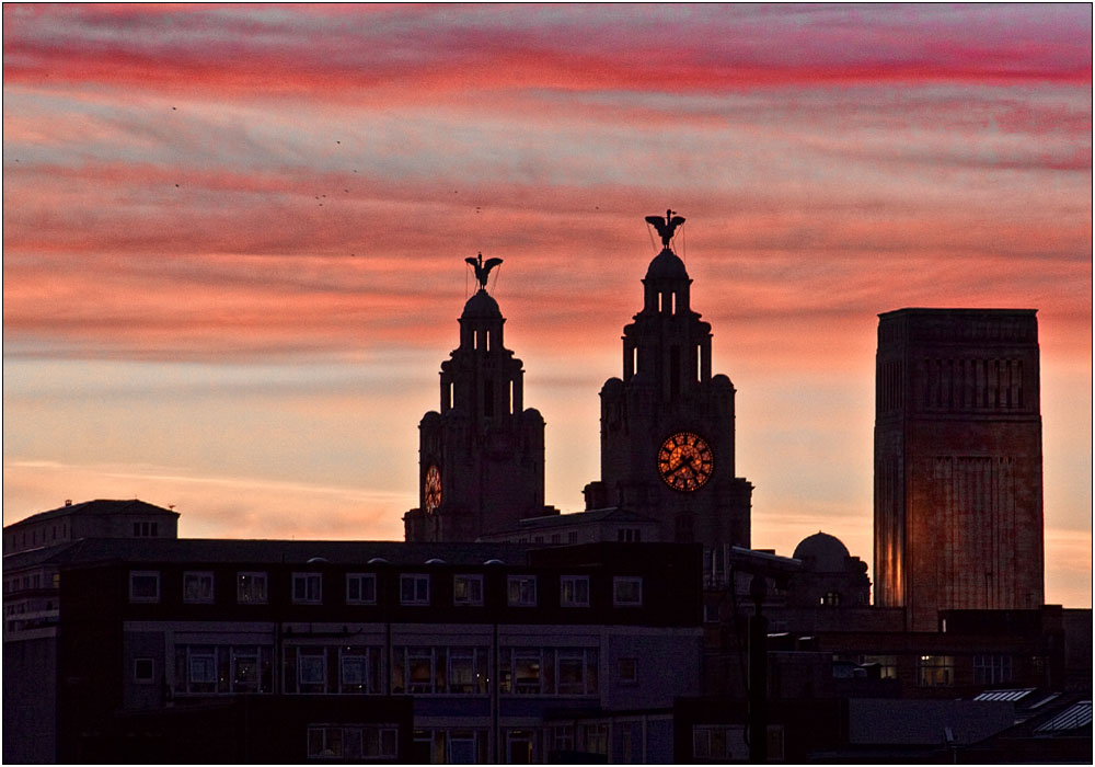 photoblog image Liverpool Skyline