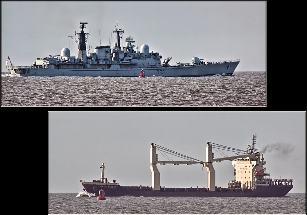 photoblog image Ships that pass in the day