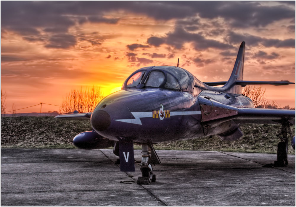 photoblog image Hawker Hunter T7