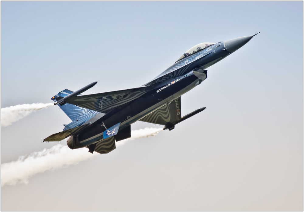 photoblog image The Belgian Air Component