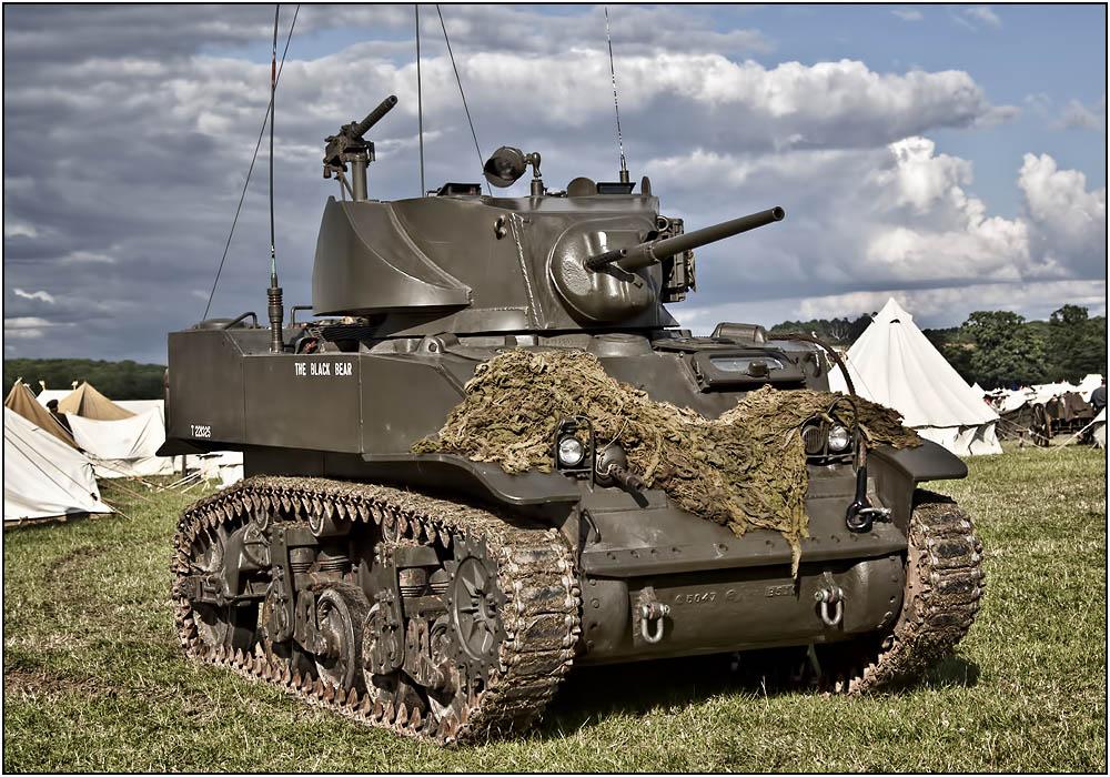 photoblog image M5 Stuart Light Tank