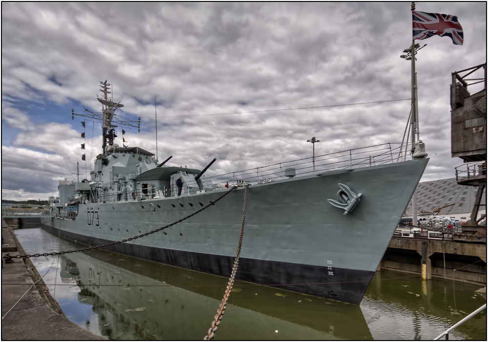 photoblog image Historic Warships at Chatham Dockyard