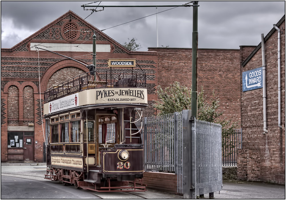 photoblog image The Birkenhead Tram