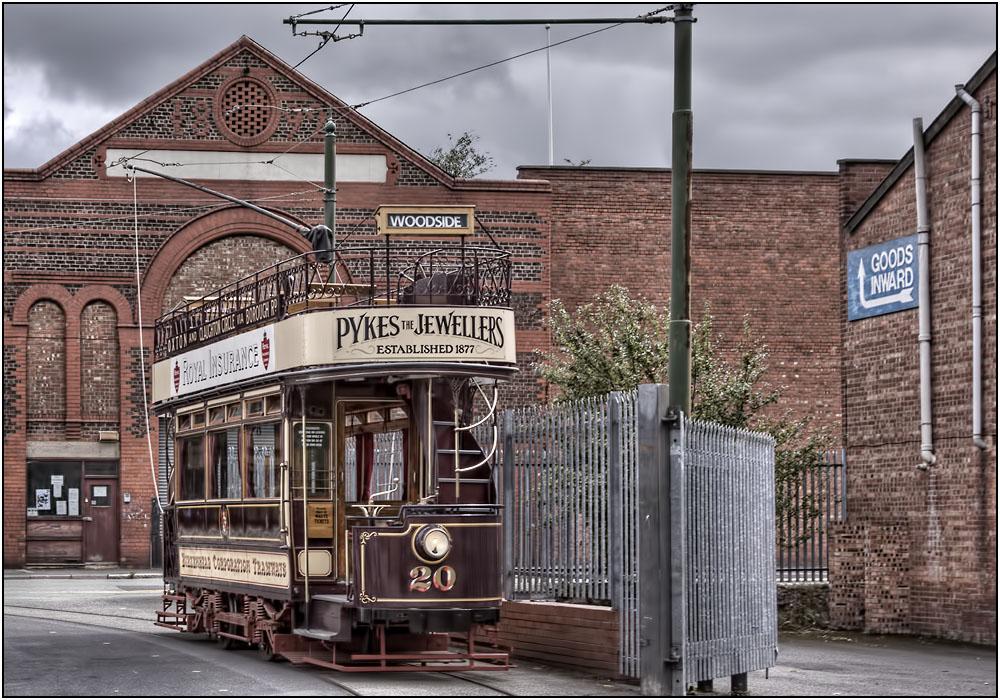 photoblog image The Birkenhead Tram