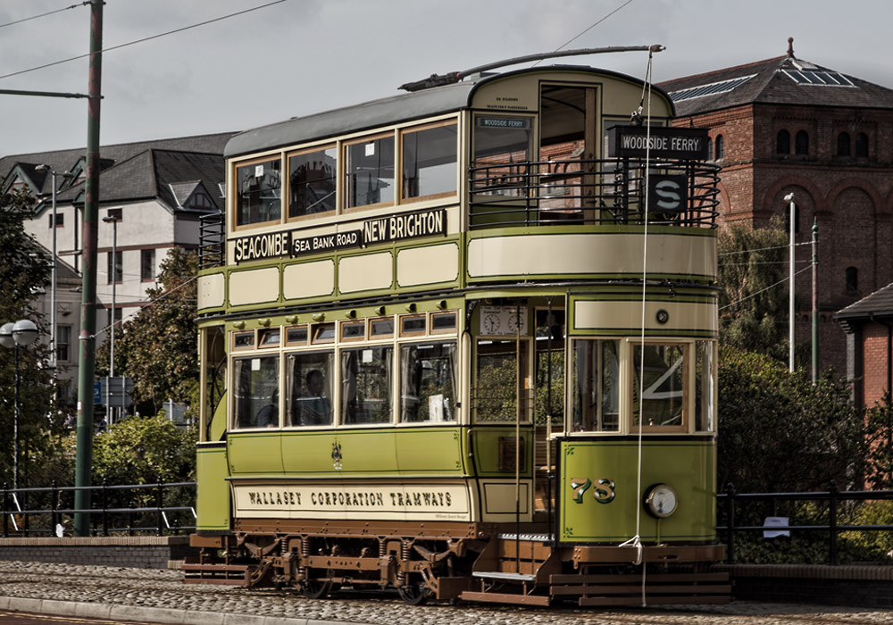 photoblog image The Wallasey Tram