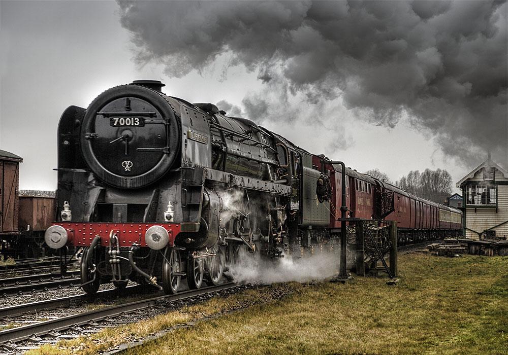 photoblog image The Mail Train