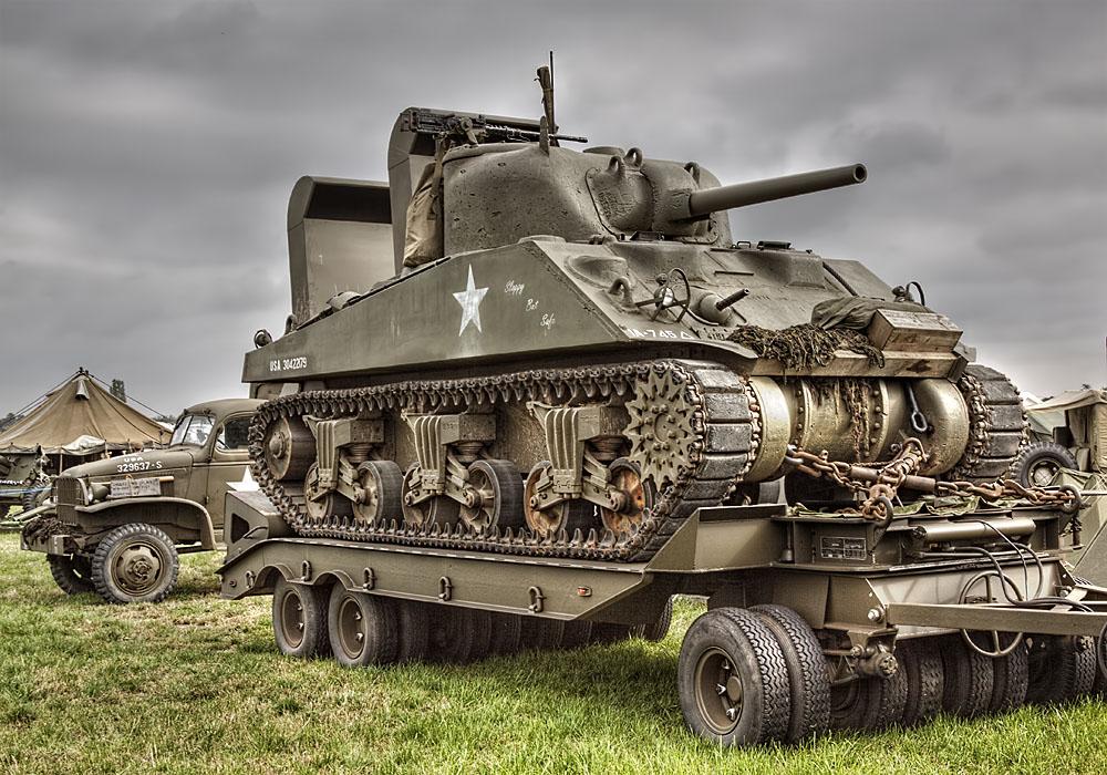 photoblog image The M4 Sherman Tank