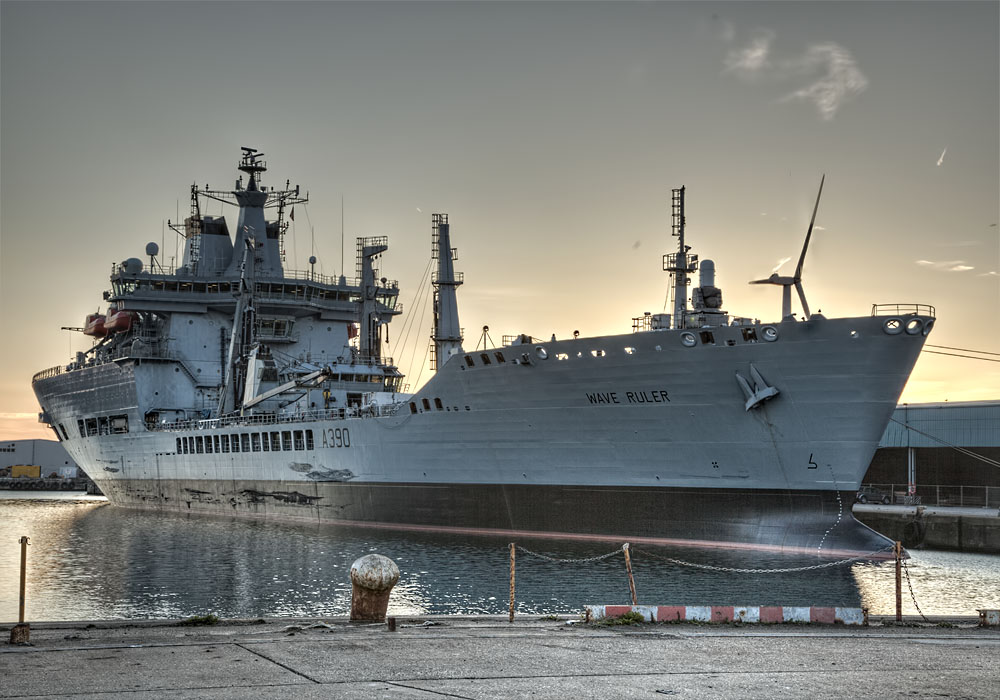 photoblog image RFA Wave Ruler
