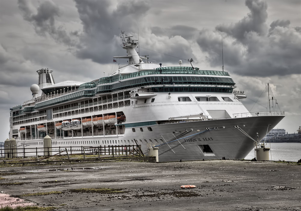 photoblog image And this weeks Cruise Ship in Liverpool is ....