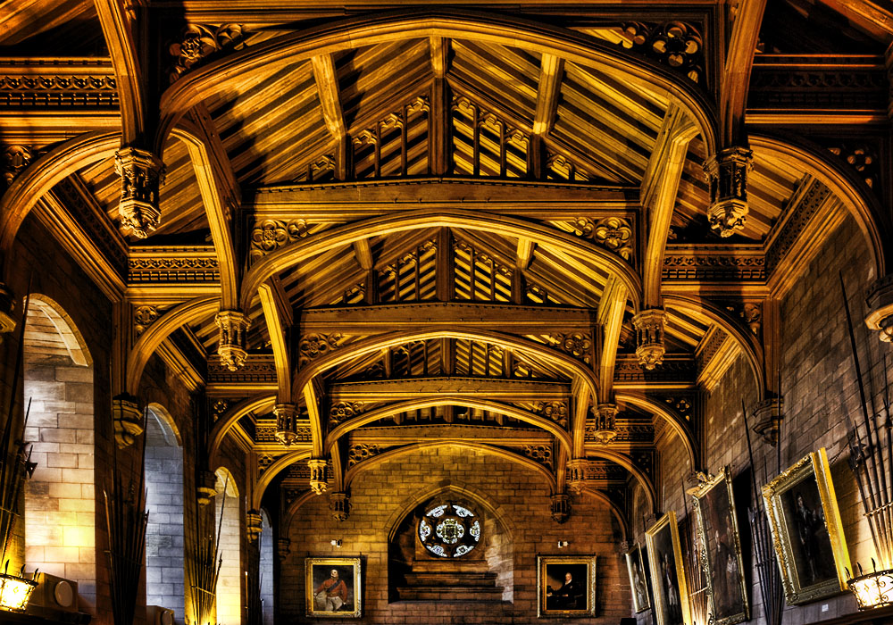 photoblog image The Great Hall at Bamburgh