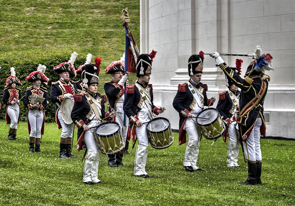 photoblog image The Band of Napoleon's Imperial Guard