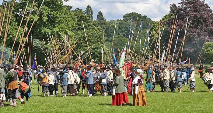 photoblog image The English Civil War.